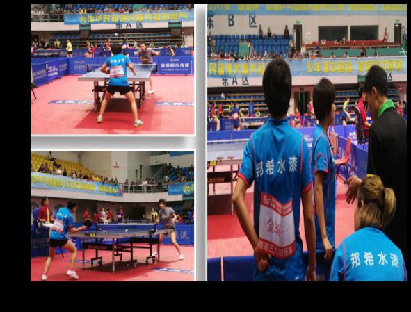 邦希企业赞助的女乒获得首个全国联赛冠军